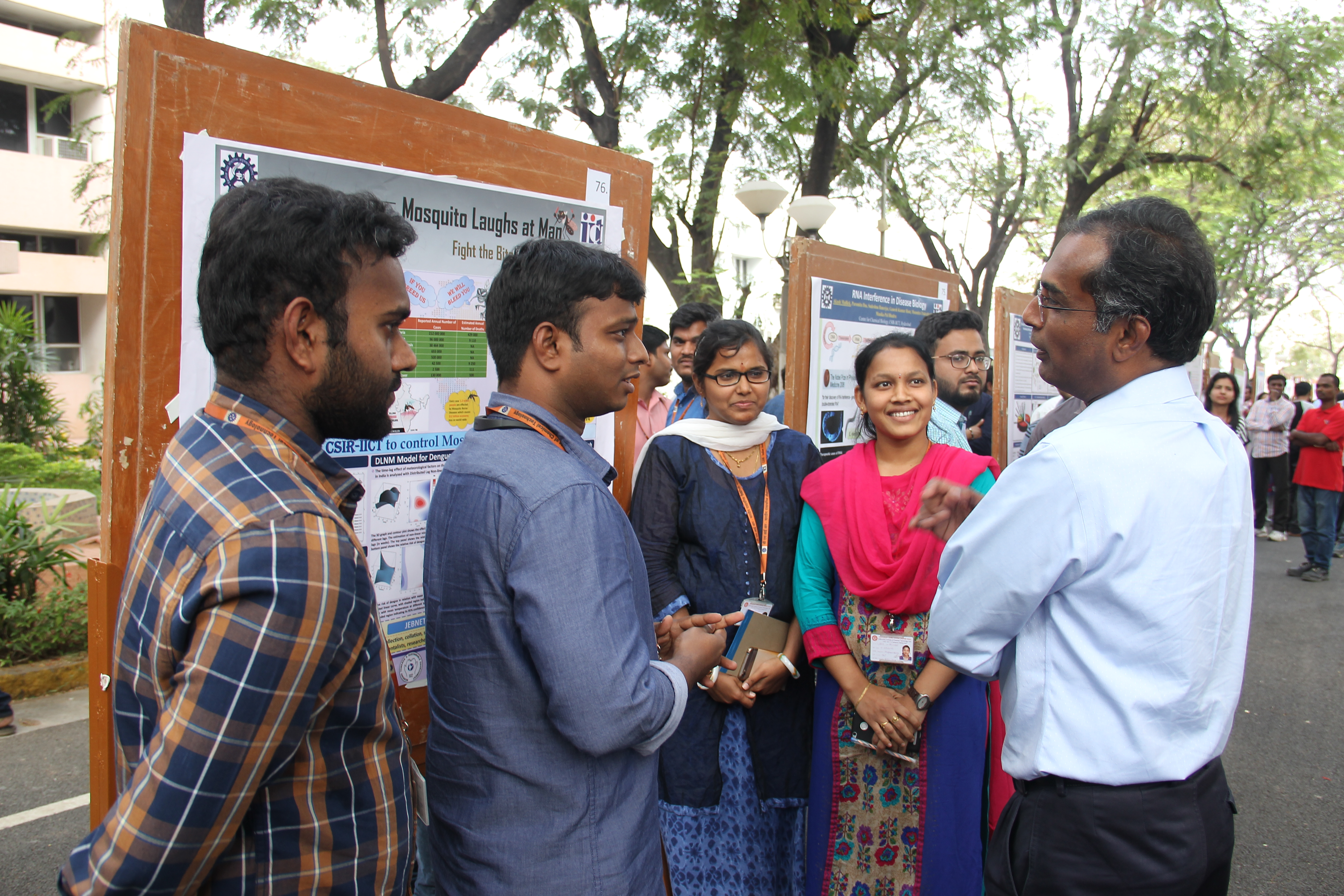 CSIR platinum jubilee science Exhibition